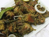 Andhra Style Green Chilli Chicken