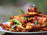 Chakka Chilli / Crispy and Spicy Kathal Fry
