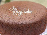 Ragi Cake || Healthy Finger Millet Powder Cake