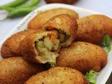 Vegetable Stuffed Bread Fry