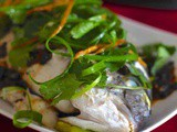 China: Steamed Fish
