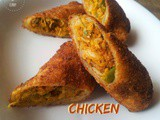Chicken Roll | a Snack Recipe