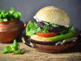 Indian-style beet burgers