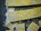 Lemon and poppy seed marshmallows