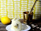 Lemon and poppy seed rice cookies
