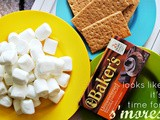 S'mores Brownies -- It's like camping in your living room