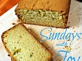 Sundays with Joy -- Avocado Pound Cake (Tiffany Style)