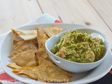 Guest Post Thursday – Avocado Chicken Salad With Baked Tortilla Chips With Erin From Dinners, Dishes, Desserts