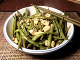 Tofu And Green Bean Stir Fry With Shiso
