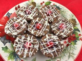 Black Forest Brownies #ChristmasCookies