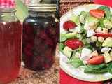 Homemade Berry Vinegar
