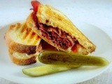 Hot Grilled Pastrami with Caramelized Onion Jam
