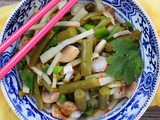 Marinated Bean Salad (Vietnamese Inspired!!) #EattheWorld