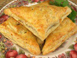 Mushroom and Swiss Turnovers for Autumn Mushroom Season