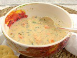 Smoked Salmon Chowder #FishFridayFoodies
