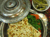 Classic Turkish Flat Breads with a Spicy Savoury Filling/Kıymalı Gözleme