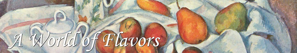 Very Good Recipes - A World of Flavors