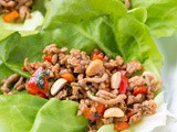 20 Minute Pork Lettuce Wraps