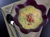 Bacon-Corn Chowder with Shrimp