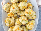 Cheesy Zucchini Drop Biscuits
