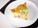 Crustless Potato Bacon Quiche