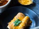 Easy Beef and Cheese Enchiladas