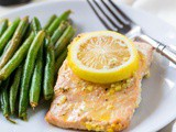 Lemon Pepper Salmon Foil Packet