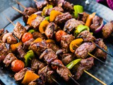 Marinated Beef Shish Kabobs