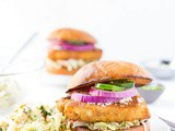 Mexican Slaw Fish Sandwich