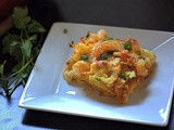 Shrimp-Crab Layered Enchilada