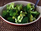 Spicy Steamed Broccoli