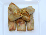 Thai Style Chicken Egg Rolls