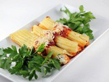 Two Cheese Crab Manicotti