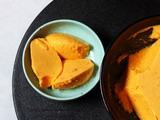 Mango Bhapa Doi | Bengali Aam Doi | Steamed Yogurt with Mango