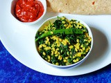Methi Moong Dal Sabzi (No Onion, No Garlic Version)