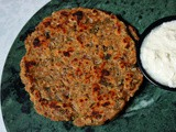 Sindhi Koki | a Crisp Paratha with Onions, Cumin, and Green Chillies