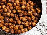 Spicy, Crunchy Baked Chickpeas: a High-Protein Snack