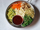 Vegetarian Bibimbap: Korean Mixed Rice Loaded with Vegetables