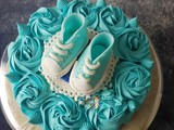 Baby Shower Cake for Boy: diy Baby Shower Cake Toppers