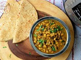 Homestyle Black Eyed Peas Curry in Instant Pot