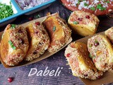 Instant Pot Kutchi Dabeli / Instant Pot Potato Stuffed Sliders