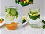 Natural Belly Slimming and Fast Weight Loss Detox Water Recipe
