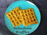 Sabudana Waffles for Navratri Fast/Vrat Ka Khana | How to Make Sabudana Waffles