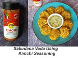 Seoul Sisters Kimchi Seasoning Review | How to Make Sabudana Vada in Air Fryer Using Seoul Sister's Kimchi Seasoning