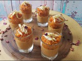 Valentine's Day Party Snack Idea - Carrot Dessert Shots