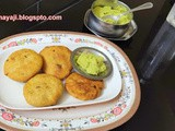 Cabbage - Moong dal Kachori