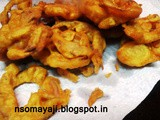 Onion Rings ( Onion Fritters)