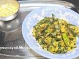 Spicy Spring Onion Dry Curry