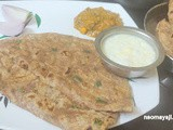 Spring Onion Mixed Flour Chapati