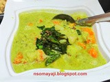 Sweet Potato Saagu/Curry